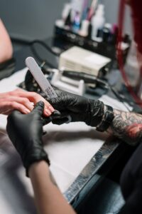 manicure in London at home services