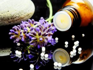 Herbs and oils for alternative medicine in London