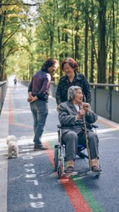 hire a nanny for elderly care in london